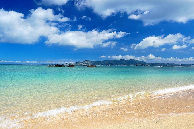 ハネムーンで南の島